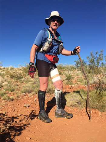 Paul injured at Larapinta